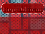 Are you a republican