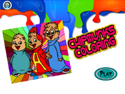 Chipmunks Coloring