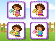 Dora Cute Butterfly Matching