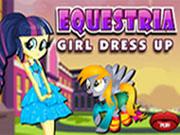 Equestria Girl Dress Up
