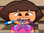 Funny Dora Dentist