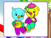 Jolly Pigs Coloring