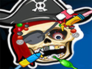 Pirate Skeleton at Dentist