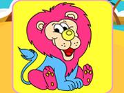Proud Lion Coloring
