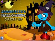Smurfette's Halloween Dress Up
