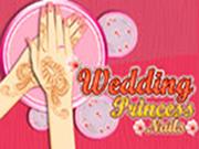 Wedding Princess Nails