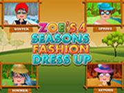 Zoe's 4 Seasons Fashion Dress Up
