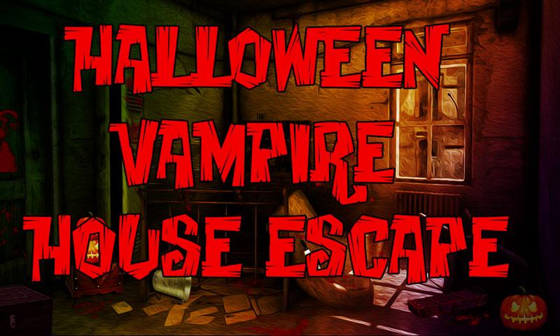 Halloween Vampire House Escape