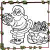 Christmas Santa Coloring