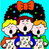 Christmas Songs Coloring