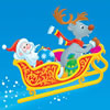 Santa Claus with Reindeer Sleigh Puzzle