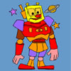 Space Robot Coloring