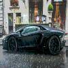 Super Car in the Rain