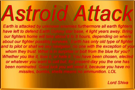 Astroid Attack