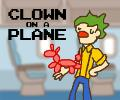 Clown On a Plane