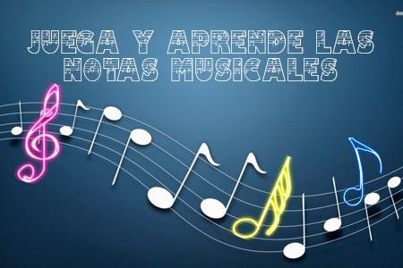 Juega y Aprende las Notas Musicales