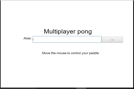 Multiplayer pong