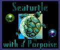 Seaturtle with a Porpoise