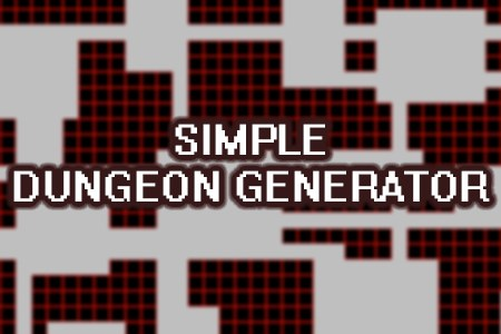 Simple Dungeon Generator Demo