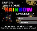 Super Awesome Rainbow Spaceship